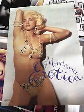 Madonna Erotica Japan Promo Poster - Steven Meisel - MDNA Rebel Heart