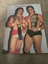 Vintage AL PEREZ WENDELL COOLEY Wrestling Pinup Photo NWA WWF WCW BLACK SCORPION