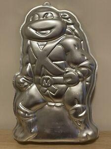 Wilton Michaelangelo Teenage Mutant Ninja Turtle 1990 Cake Pan 2105-3075