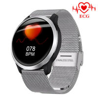LEMFO smart watch ECG PPG etanche blood pressure monitor Android ios Montre