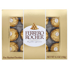 Ferrero Rocher Fine Hazelnut Chocolate 5.30 oz GREAT HOLIDAY GIFT!