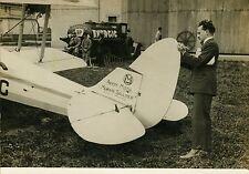"""""""COUPE DUNLOP d'AVIONS à ORLY 1931"""" Photo originale G. DEVRED (Agence ROL) 1931"""