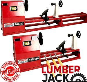 Lumberjack 1 Metre Starter Wood Turning Lathe with Variable Speed & Accessories