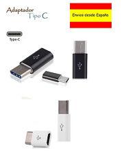 USB 3.1 Tipo C macho A Hembra Adaptador Convertidor 5Pin 2.0 Micro USB 23mm