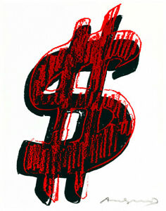 $ 1982 A1+ by Andy Warhol High Quality Canvas Art Print