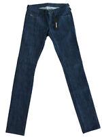 Diesel Damen Skinny Fit Stretch Jeans Hose| Indigo-Blau|W25 L32