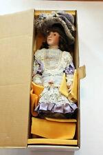 """RARE Treasured Heirlooms Collection Priscilla Doll, 27"""" NIB"""