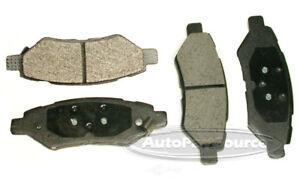 Disc Brake Pad Set-Ceramic Pads Rear Tru Star CBP1337