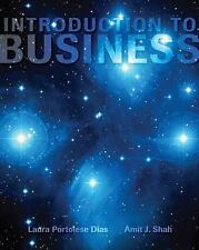 Introduction to Business by Laura Portolese Dias and Amit J. Shah (Paperback) FS
