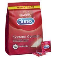 Preservativi Durex Contatto Comfort Elite Profilattici Ultra Sottili Box da 100