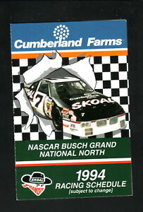 Busch Grand National North--1994 Schedule--Cumberland Farms/Skoal