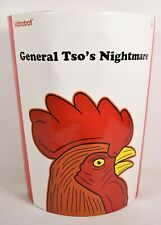 Kidrobot General Tso's Nightmare Gold Vinyl Figure Signed Frank Kozik