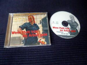 CD Wenn Mutti Früh Zur Arbeit Geht Kinderlieder Aus Dem DDR-Archiv Pitti-Platsch