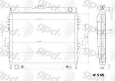 Global Parts Distributors 945C Radiator