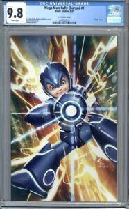 Mega Man: Full Charged #1  InHyuk Lee Virgin Variant  1st Print CGC 9.8