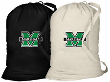 Marshall Laundry Bag MARSHALL University CLOTHES BAG 2pc SET-w/ SHOULDER STRAPS!