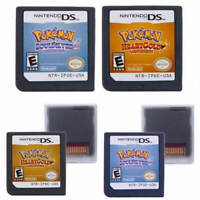 Pokemon Heart Gold Soul Silver Version Game Card For Nintendo 3DS NDSI NDS Lite