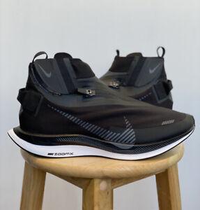 Nike Zoom Pegasus Turbo Shield Black Smoke Grey BQ1896 003 Size 10 Brand New