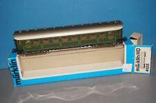 RF18 Märklin H0 4135 D-Zug Wagen 3.Kl. der K.Bay.Sts.B. beleuchtet OVP super Zst