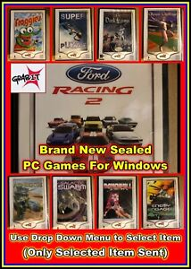 Grab-it Games: PC Game Windows OS - Brand New Games Ford Racing + More