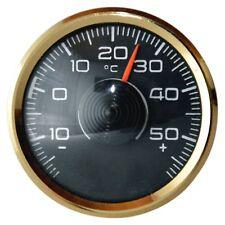 Original Thermometer 1970 Metall mit Magnet & Klebepad von RICHTER / HR Art 3501