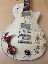 Complete-no-soldering LP style Electric Guitar DIY kit+Free Picks,Tuner