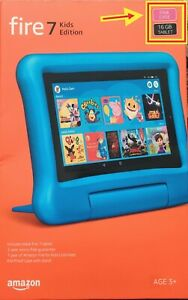 Amazon fire 7 ( 9th generation ) Kids Edition 16GB Tablet with PINK case