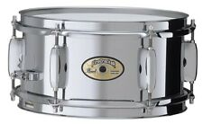 """Pearl FCS1050 Fire Cracker Snare Drum 10x5"""" Stahl Steel / Rullante Caisse Claire"""