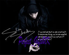 EMINEM SLIM SHADY MARSHALL MATHERS 8 MILE SIGNED Autographed 10X8 PP REPRO PHOTO