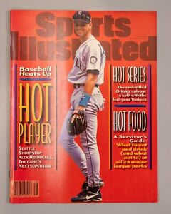 Sports Illustrated July 8 1996 Baseball Heats Up No Label News Stand Issue