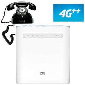 Modem Router 4G ++ con sim slot ZTE MF286D 600MBps Cat12 LTE wifi rj11 lan iliad