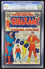 Shazam #1 CGC 9.6 Fist Appearance Of Captain Marvel Since The Golden Age (1973)