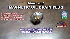 14mm MAGNETIC OIL PAN DRAIN PLUG HONDA PILOT ELEMENT PRELUDE CIVIC DX SI LX ALL
