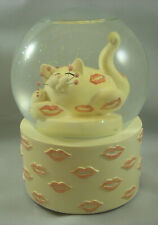 Annaco Creations Whimsiclay Musical Water Globe Blowing Kisses by Lacombe 25008