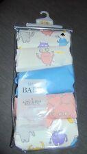 M&S Set of 5 Long Sleeved 'Monsters' Bodysuits NEWBORN 50cm Multi-coloured BNWT