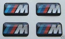 4 pc BMW M  Tec Wheel Rims 3D Sticker Decal Badge Emblem