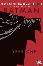 Year One by Bob Kane, Frank Miller and David Mazzucchelli 2007, Paperback