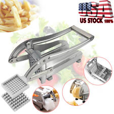 Potato Chipper Slicer Chip Cutter Chopper Maker French Fries Stainless Steel USA