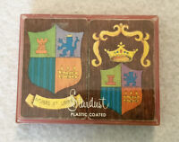 Vintage Stardust Plastic Coated Playing Cards