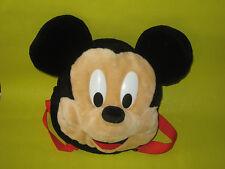 Occasion - Peluche - Sac à dos Disney - MICKEY   (H:25cm)