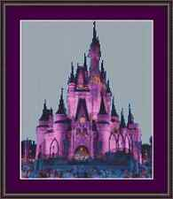 Disney Fairy Tail Princess Castle Cross Stitch Kit