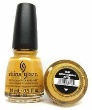 China Glaze Nail Polish - 84296/1632 Mustard The Courage 0.5oz