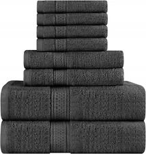 Towels Premium 8 Piece Towel Set, Super Soft and Highly Absorbent (8 Pack)