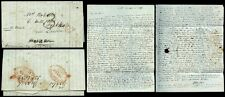 ITALY 1832 LONG LETTER to ROBERTS PECKHAM...SIR WALTER SCOTT...ZANTE MENTIONED