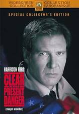 Clear And Present Danger (DVD, 2002)