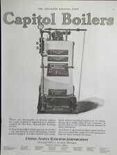 1923 Capitol Boilers Winchester Model Advertisement