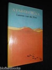 LAURENS VAN DER POST: A Far Off Place - 1974-1st Ed - Africa Set Novel - HB/DJ