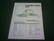 1987 BOMBARDIER BR-400 TRACKED ATV Canadian SINGLE SHEET - BROCHURE