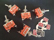 10PCS 15A 250V 2-Pin Toggle Switch ON-OFF