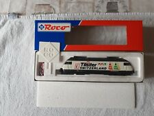 ROCO 43752 LOCO ELETTRICA Re 4/4  460 020-1 LIVREA DITTA  TILSITER SWITZERLAND